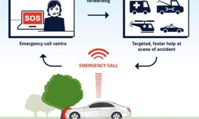 llamada de emergencia automática