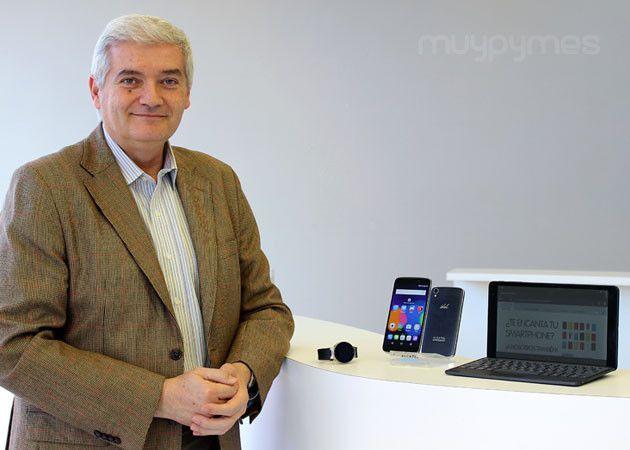 Entrevistamos a Carlos Cano, director general de Alcatel OneTouch en España