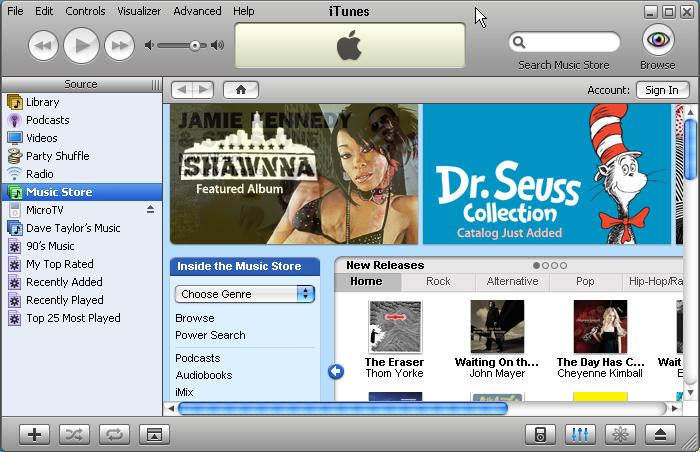 iTunes deja de funcionar en Windows XP