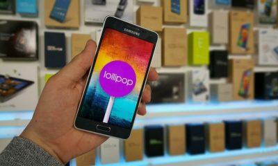 Android Lollipop ya disponible para los Galaxy Alpha 40