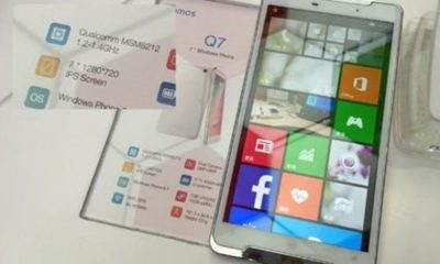 Asoma phablet con Windows Phone 8.1 y pantalla de 7 pulgadas 71