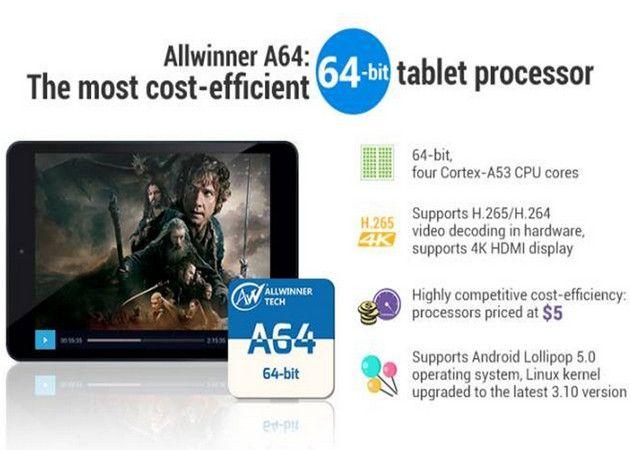 Chipset Allwinner de 5 dólares, sin comparación en precio-rendimiento