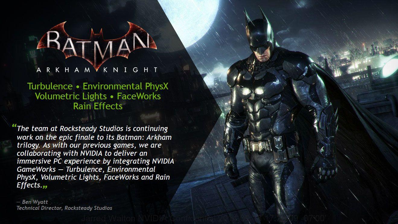 The Witcher 3 y Batman Arkham Knight gratis con las GTX 970 y GTX 980
