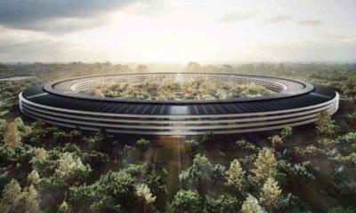 Conjunto de iRobots de Apple lanzan un mapa sobre la futura sede