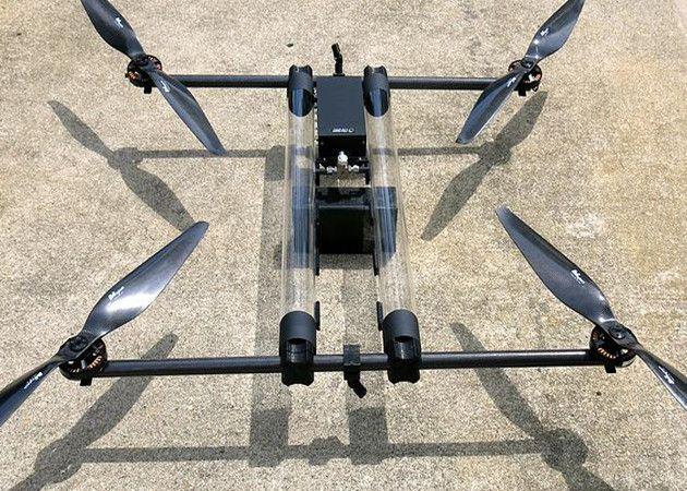 Drones con hidrógeno