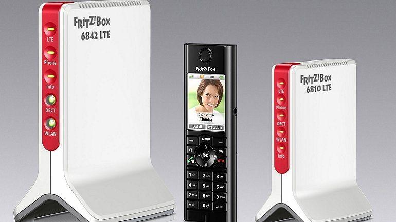 FRITZ!Box 6810 LTE con WiFi N, telefonía y 4G 30