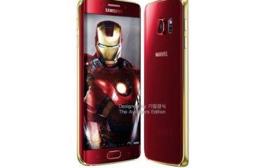 El Galaxy S6 inspirado en Iron Man llegará muy pronto 29