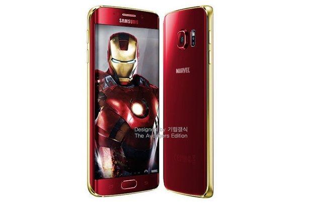 Galaxy S6 inspirado en Iron Man