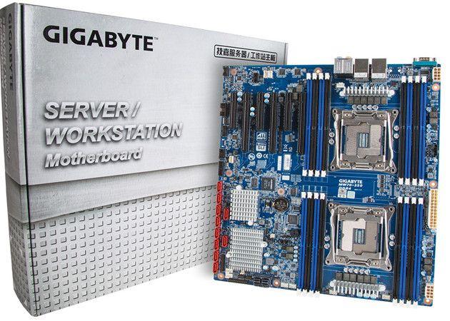 Gigabyte presenta placa con doble socket para workstation