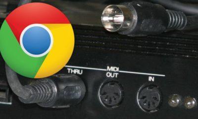 Google Chrome añade soporte para MIDI