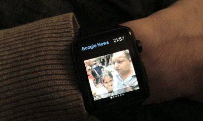 Google lanza una app para ver el tiempo y las noticias en el Apple Watch