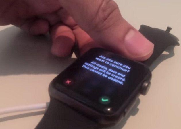 Grave fallo de seguridad en el Apple Watch, que permite saltarse la autenticación para resetear