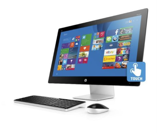 HP Pavilion All-in-One_Left Facing