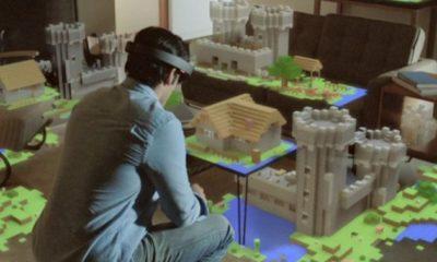 HoloLens, el motivo de por qué Microsoft compró Minecraft