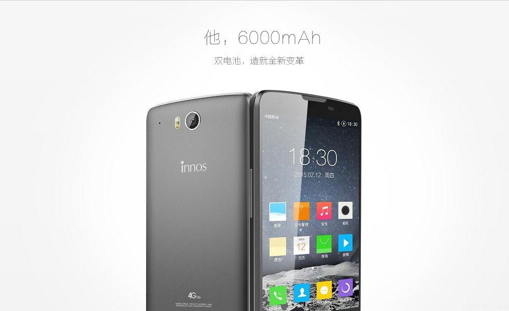 Innos D6000, smartphone de ocho núcleos y baterías de 6.000 mAh