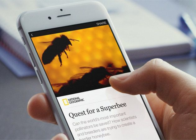 Instant Articles de Facebook es lanzado para iPhone