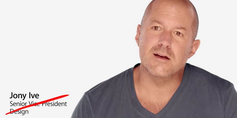 Apple promociona a Jony Ive como jefe de diseño 29