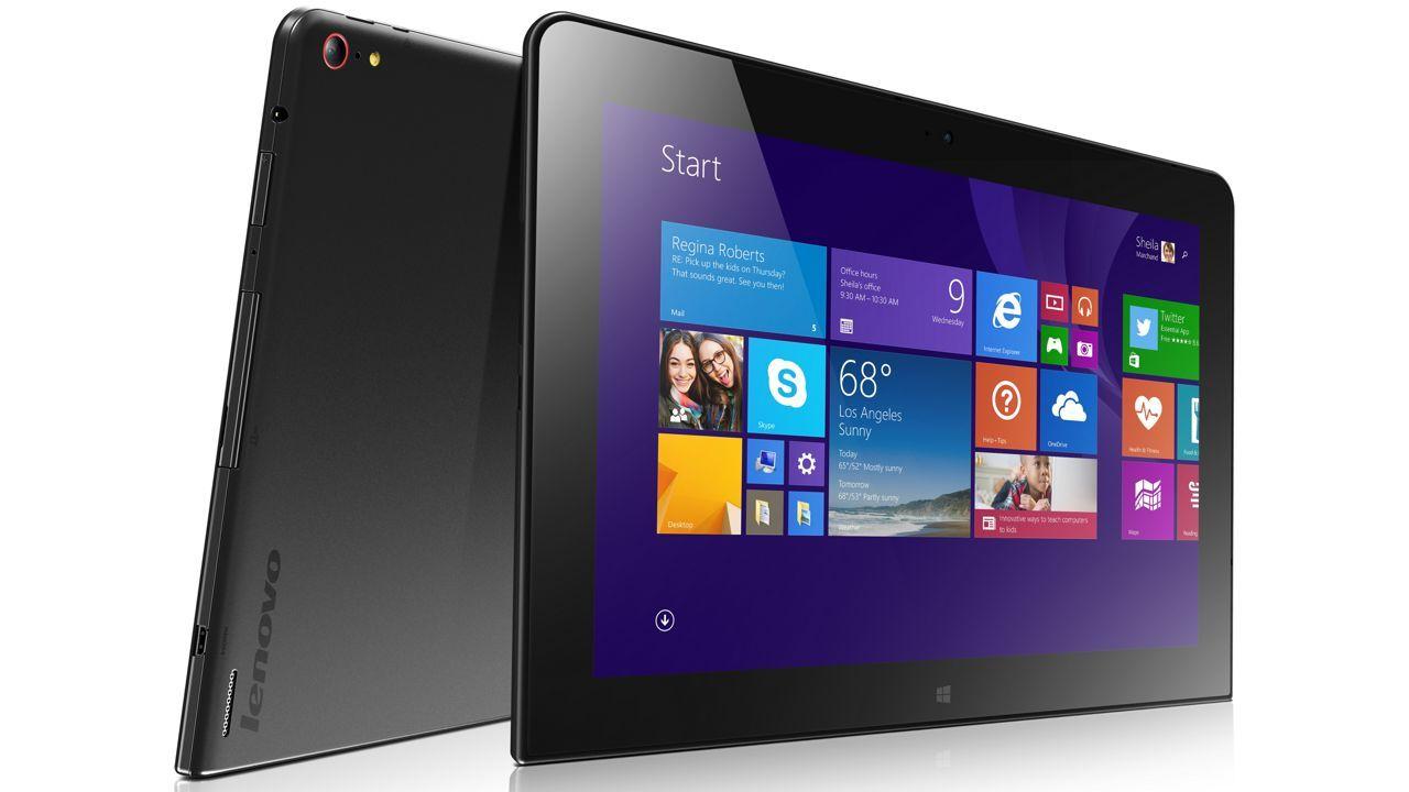 Lenovo anuncia tablet con CPU Intel Atom de última generación