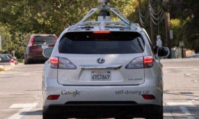 Los coches autoconducidos de Google han estado involucrados en 11 accidentes