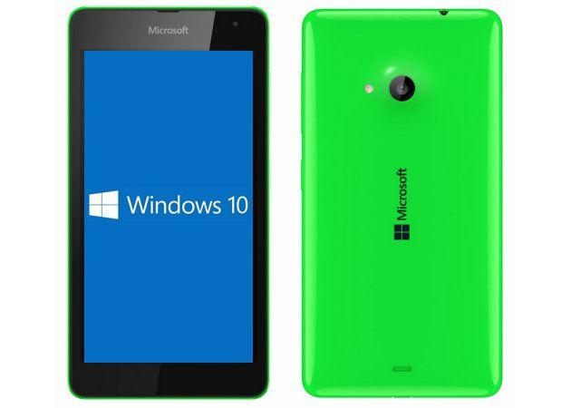 Microsoft actualizará directamente los smartphones con Windows 10