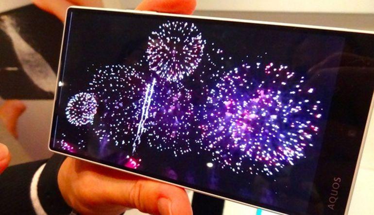 Nuevo smartphone de Sharp reproduce vídeo slow motion a 2.100 frames por segundo