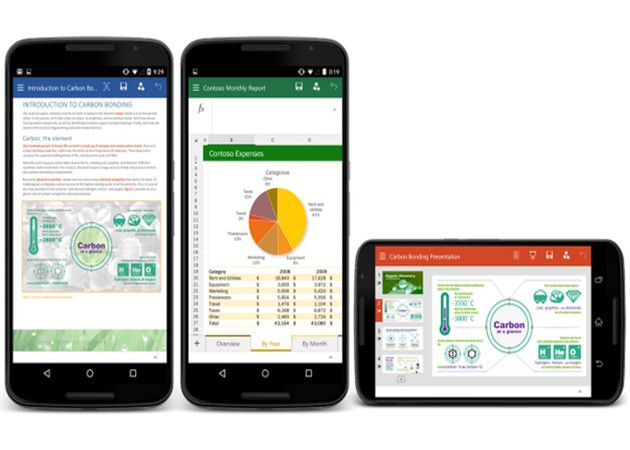 Microsoft publica Office Preview para móviles Android