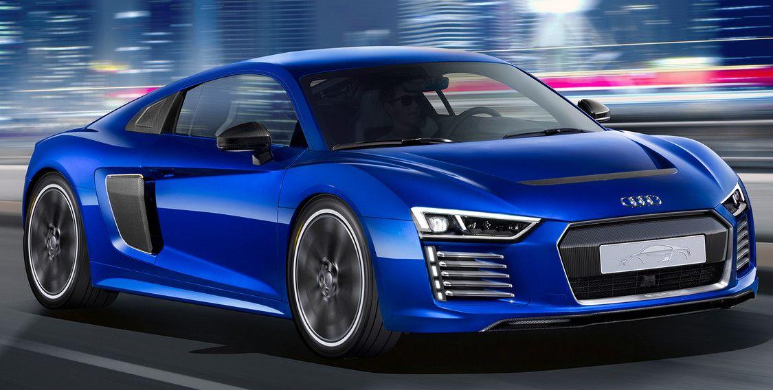 Audi R8 e-tron, superdeportivo eléctrico y autónomo