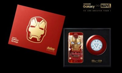 Samsung Galaxy S6 Edge Iron Man Edición Limitada