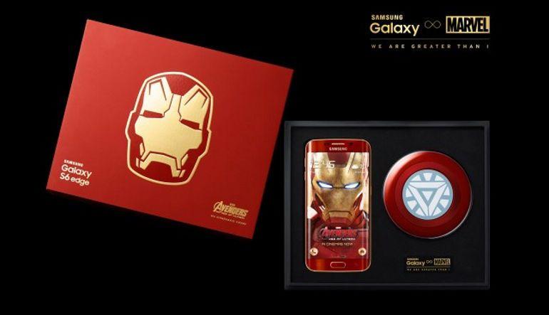 Samsung Galaxy S6 Edge Iron Man Edición Limitada