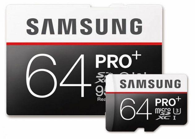 Samsung aumenta rendimiento de sus tarjetas micro SD