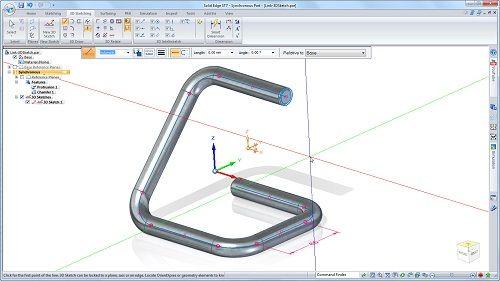 Prueba gratis el Solid EDGE ST7: modelado en 3D 37
