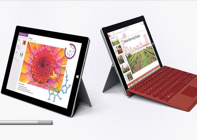 Ya está a la venta en España el tablet Surface 3