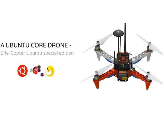 Disponible el primer drone con Ubuntu