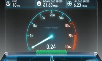 velocidad de conexión