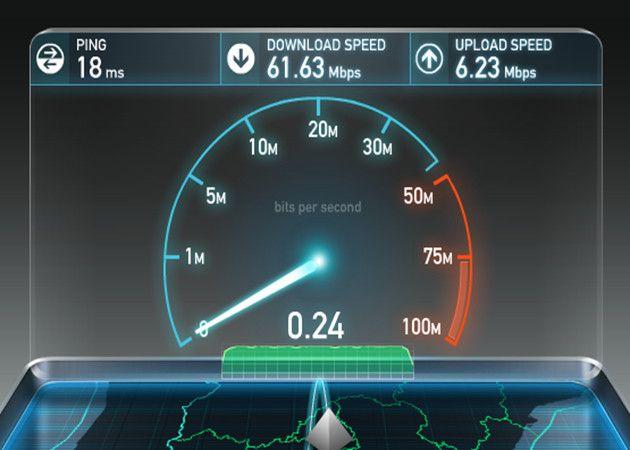 Cómo probar la velocidad de conexión de un servicio de Internet