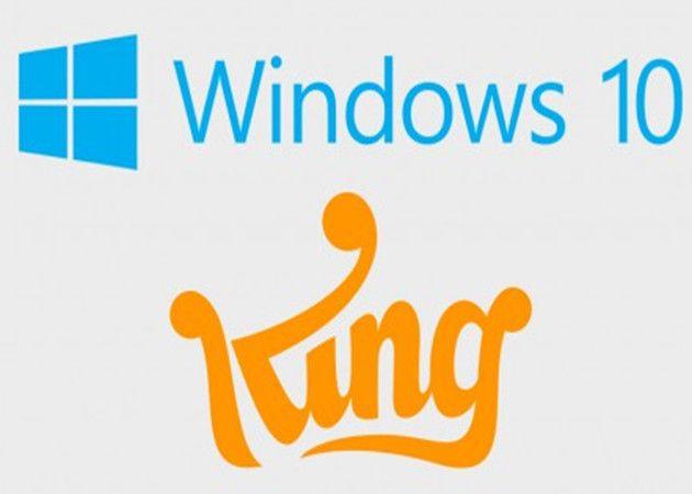 Candy Crush en Windows 10, más Bloatware de la misma Microsoft
