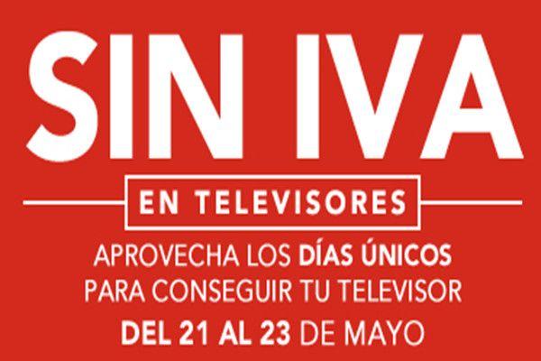 Días sin IVA en televisores de Worten