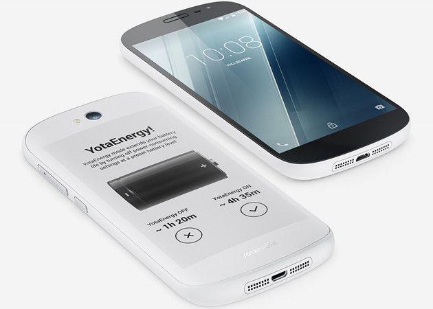 YotaPhone 2, ahora en blanco, con Lollipop y más económico