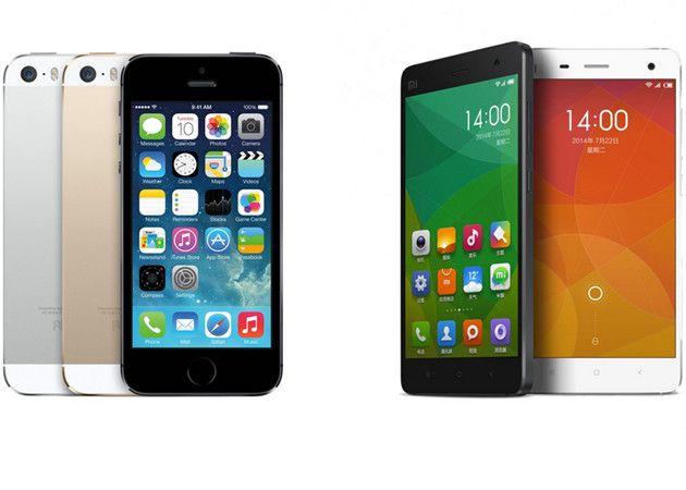Apple y Xiaomi