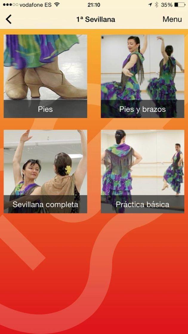 Bailar Sevillanas, app para iPhone y iPad que te enseña a bailar sevillanas