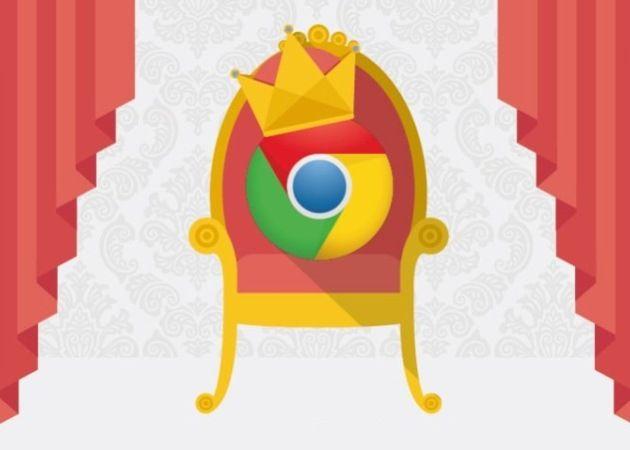 Google Chrome ya se come más de un cuarto del pastel