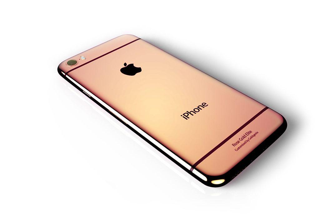 iPhone 6s tendría opción de color oro rosa y cámara de 12 MP