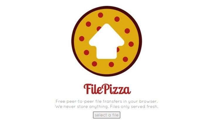 FilePizza comparte archivos directamente desde el navegador