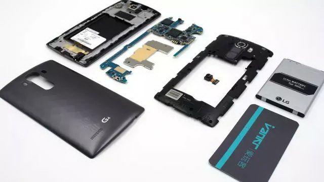 Desmontan el LG G4 en 15 minutos,no es difícil de reparar 27
