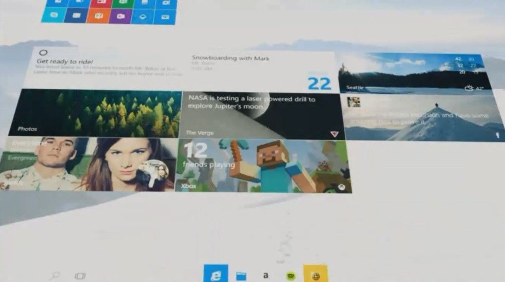 Así era Windows 10 en su fase inicial de desarrollo