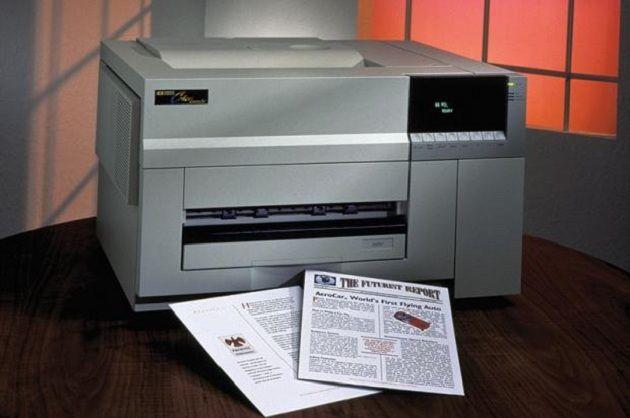 Un paseo por la historia de las impresoras