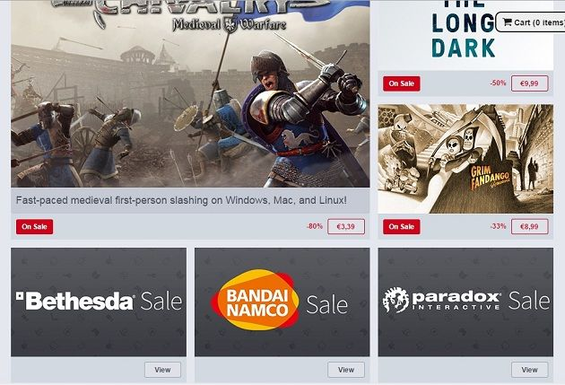 Ofertas especiales en Humble Store, juegos desde 1 euro