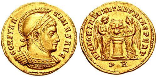 moneda oro romana