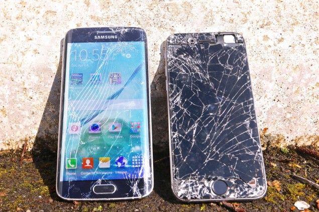 Lista con los costes de reparación de los Galaxy S6