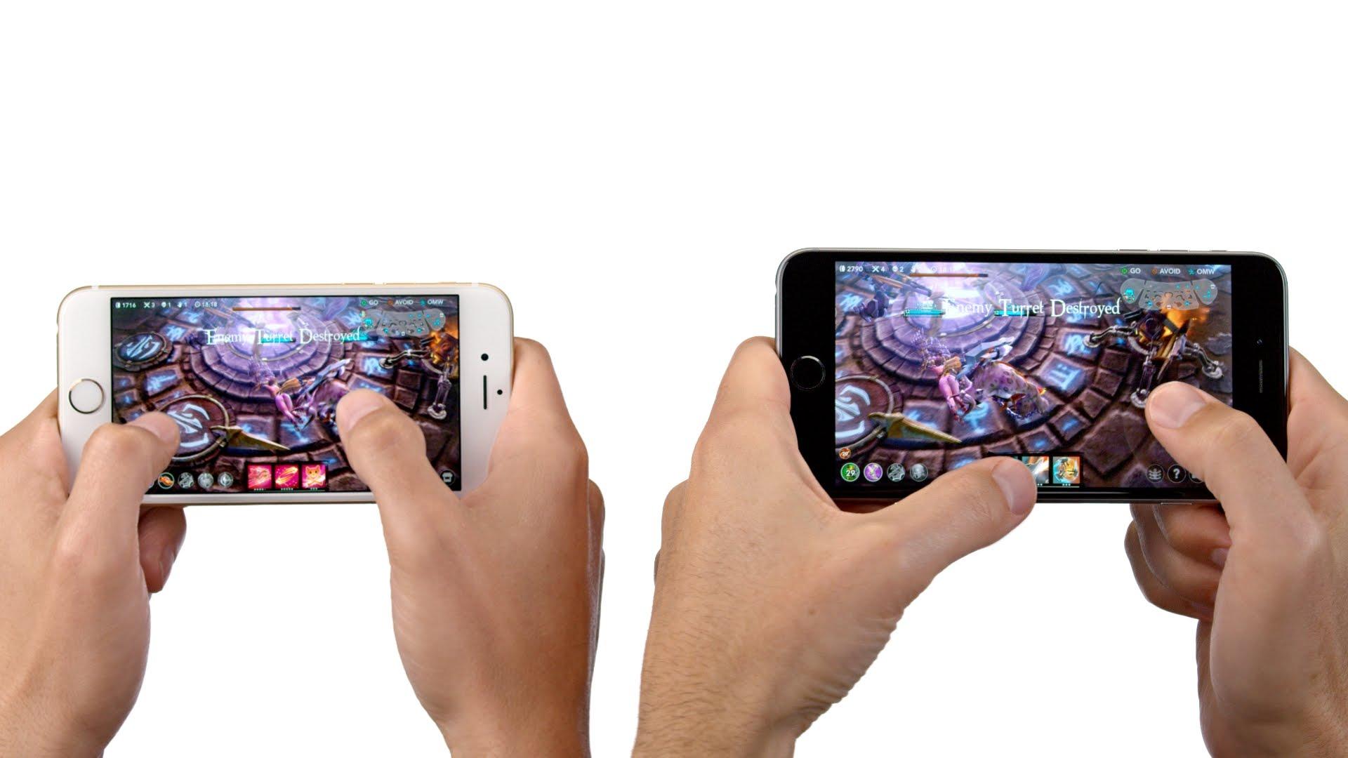 Comparativa de potencia entre smartphones y consolas